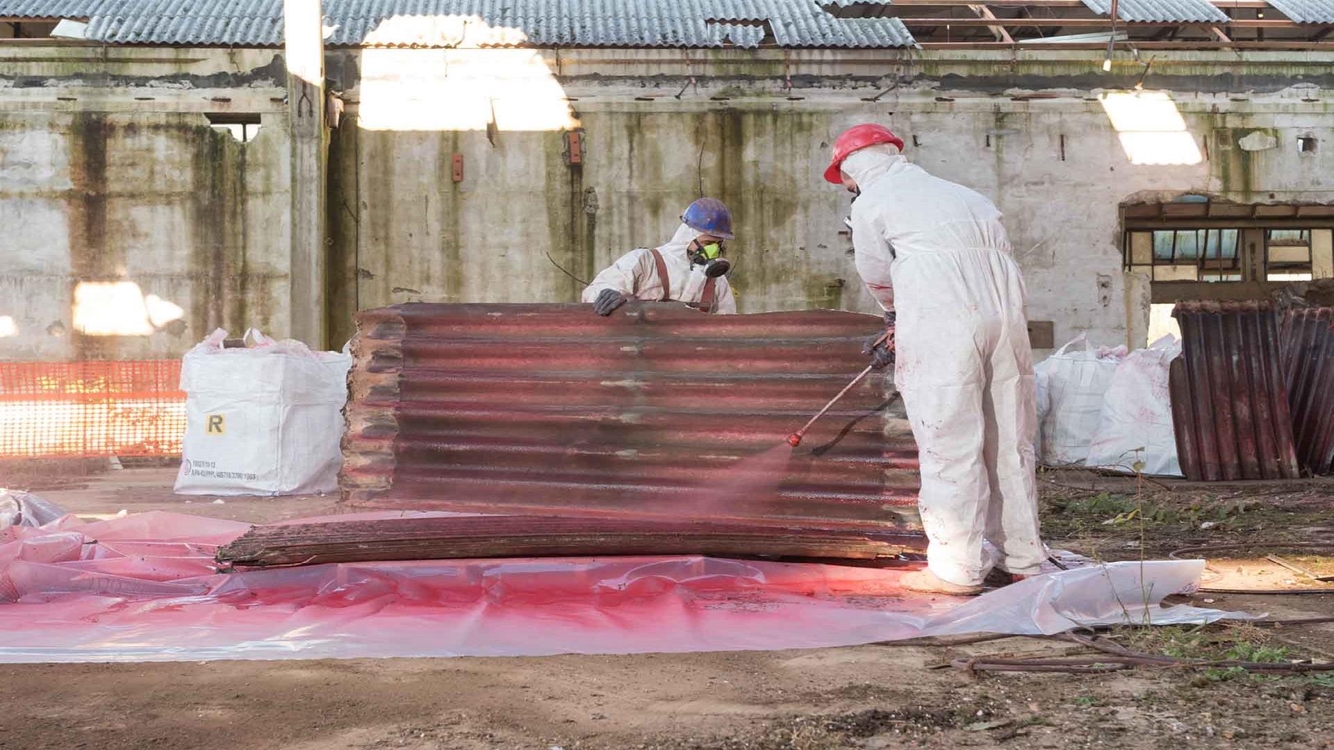 Alles over asbestsanering